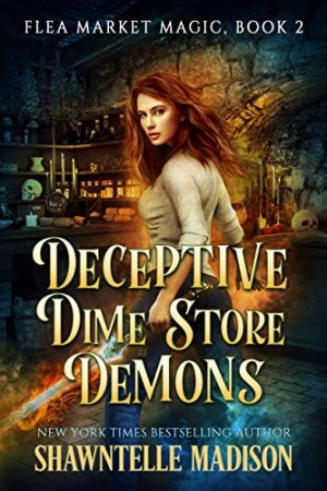 book cover of Deceptive Dime Store Demons by Shawntelle Madison
