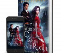 Release Day Spotlight: The Sorceress Queen and the Pirate Rogue by Jeffe Kennedy