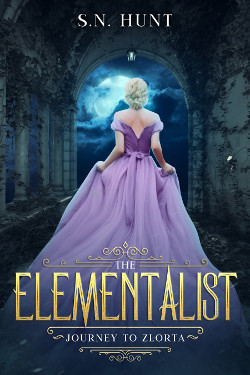 Book cover of The Elementalist: Journey to Zlorta by S.N. Hunt