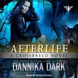 audiobook cover of AFTERLIFE by Dannika Dark
