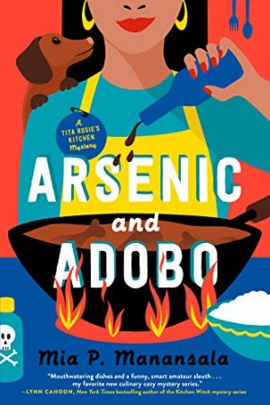 book cover of Arsenic and Adobo by Mia. P. Manansala