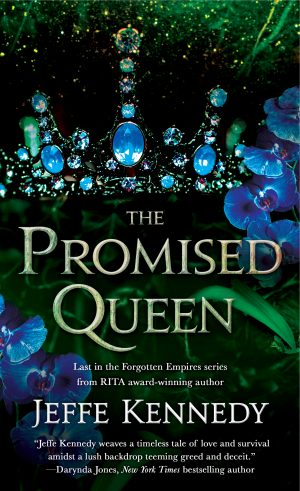 Book cover of The Promised Queen by Jeffe Kennedy
