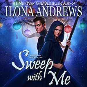 audiobook cover of Sweep with Me by Ilona Andrews