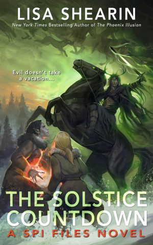 book cover of The Solstice Countdown by Lisa Shearin