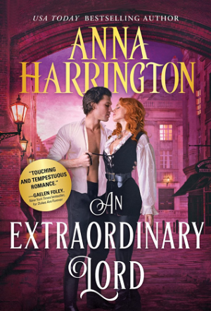 Book cover of An Extraordinary Lord by Anna Harrington