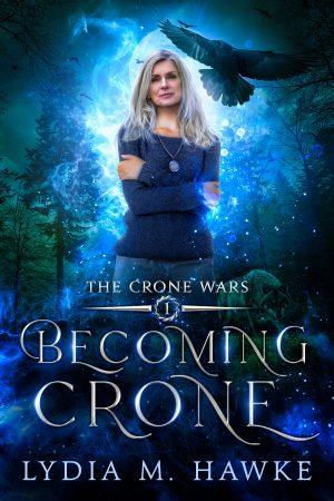 Book cover of Becoming Crone by Lydia M. Hawke