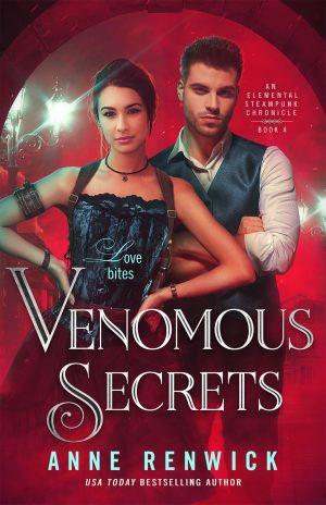 book cover of Venomous Secrets by Anne Renwick