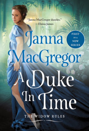 book cover of A Duke in Time by Janna MacGregor