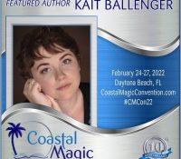 #CMCon22 Featured Author Spotlight: Kait Ballenger