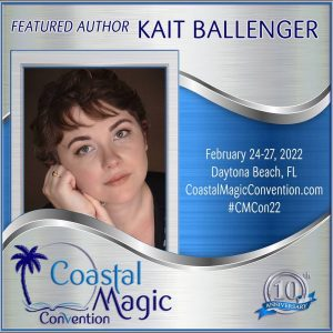 CMCon Featured Author graphic of Kait Ballenger