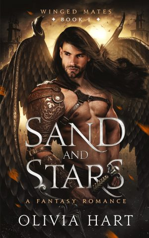 Book cover of Sand and Stars by Olivia Hart