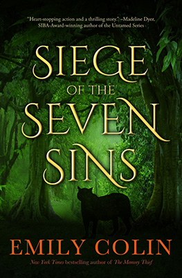 Book cover of Siege of the Seven Sins by Emily Colin