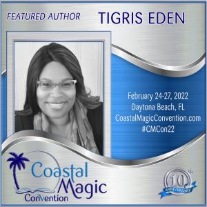 Coastal Magic Con image of Author Tigris Eden