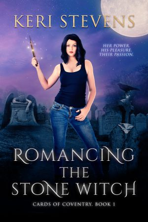 book cover of Romancing the Stone Witch by Keri Stevens