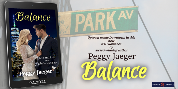 Book promo for Balance by Peggy Jaeger