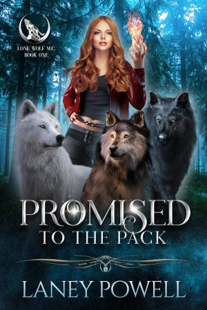 book cover of PROMISED TO THE PACK by LANEY POWELL