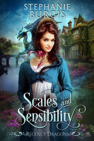 book cover of Scales and Sensibility by Stephanie Burgis
