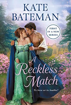 Book cover of A Reckless Match by Kate Bateman