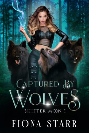 book cover of Captured by Wolves by Fiona Starr