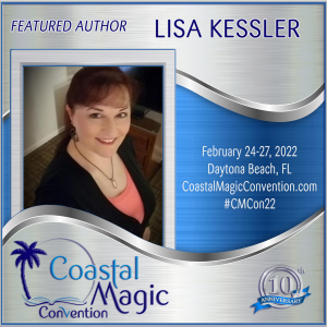 Coastal Magic Featured Author Lisa Kessler, author head shot