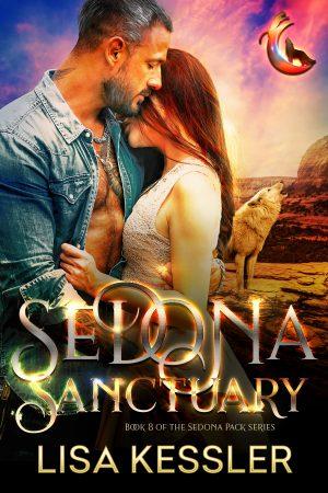 Book Cover of Sedona Sanctuary by Lisa Kessler