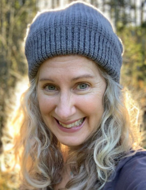 Head shot of author Sharon Lynn Fisher