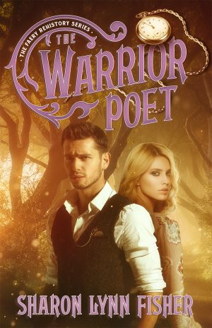 Book cover of THE WARRIOR POET by Sharon Lynn Fisher